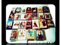 LEADING LADIES FILM BUNDLE - 25 FILMS - DVDS & VHS TAPES - FOR SALE