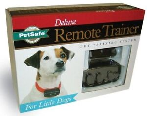Petsafe Little Dog Deluxe Remote Trainer - New in Box