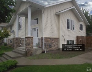 Like new, bright 2 bedrooms upper duplex for rent utilities incl