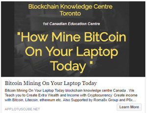 """How to Mine Bitcoin on Your Laptop ?"""