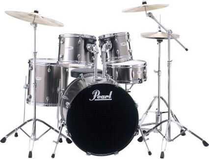 1 x New Pearl Drum Kit (Chrome) Fremantle Fremantle Area Preview