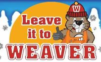 Leave it to Weaver Snow Removal! Servicing the south end of WPG.