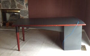 Reduced Price: Executive Desk - 6 ft (Charcoal Finish) Peterborough Peterborough Area image 1
