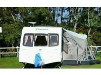 Bailey pageant caravan 4 berth