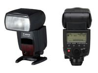 Canon 580 EX II Speedlite Flash complete with manual, box and diffuser. Mint condition!