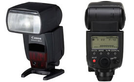 Canon Speedlite 580 EXII flash
