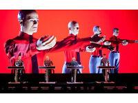 2 Stalls - G - tickets for Kraftwerk Fri 23 June Albert Hall -below half price- £80 the pair
