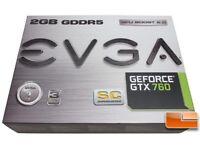 EVGA GTX 760 Graphics Card