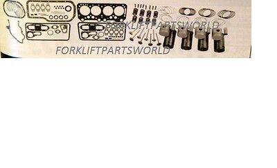 Caterpillar Cat Forklift Peugeot Major Overhaul Engine Xn1p Xnip Parts