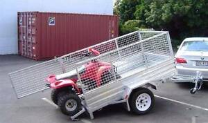 7x5 Box Trailer. 2017 build + cage. Tipper style & 12m Rego. PMX Wangara Wanneroo Area Preview