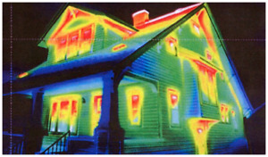 Heat loss analysis of your home! Thermography/infrared survey