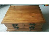 Rustic pine coffee table ***Reduced Price***