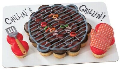 New Cake Toppers BBQ Grill Cake Topper Poptop - Bbq Cake