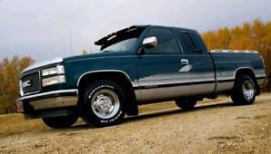 95 GMC pickup truck for sale or trade for custom chevy van
