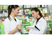 Pharmacy - Dispensers & Healthcare Assistants - F/T & P/T - HAYES AREA UB7