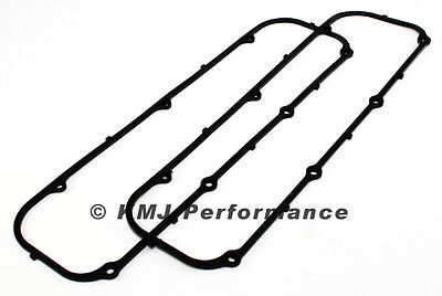 Big Block Ford 429 460 Reusable Valve Cover Gaskets - Rubber W/ Steel Shim Core