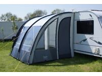 """Caravan Awning """"ONTARIO 260 Lightweight Caravan Porch Awning"""" excellent condition hardly used ."""