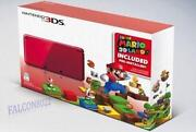 Nintendo 3DS Flame Red New