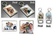 Personalised Photo Keyring