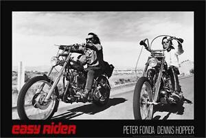 EASY RIDER - MOVIE POSTER - 24x36 FONDA HOPPER MOTORCYCLES 9103