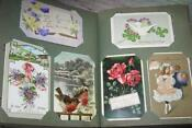 Antique Christmas Postcards Lot