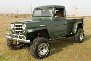 1954 willys truck parts