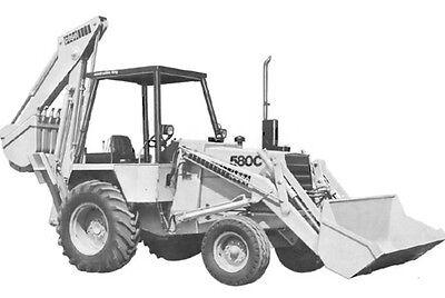 Case 580c Backhoe Loader Service Repair Manual Cd -  580 C