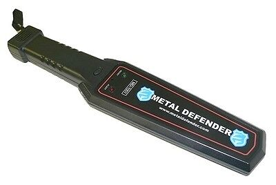 Metal Defender Body Scanner Device for Airports Security Handheld Wand 2YR WRNTY