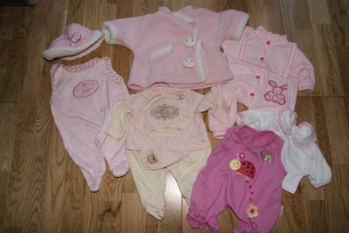 Baby Dolls Clothes Bundle Ebay
