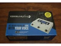 TC Helicon Voicelive Play GTX Voice processor with built in guitar settings and looper