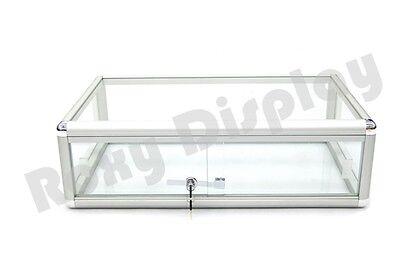 Glass Countertop Display Case Store Fixture Showcase Sc-kdflat
