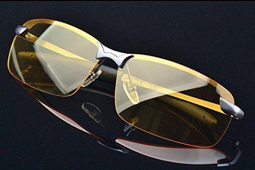Мужские солнцезащитные очки HD Night Vision Polarized Glasses Driving Aviator  Sunglasses New UV400 Eyewear - 112207002132 - купить на eBay.com (США) с ... 9c0276c11896b