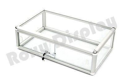 Standard Aluminum Framing Glass Countertop Display Case Store Fixture Kdflat-sc