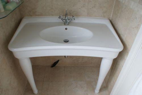Free Standing Sink Unit Ebay