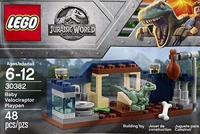 Lego Jurassic World 30382 Baby Velociraptor Playpen New & Sealed Poly Bag