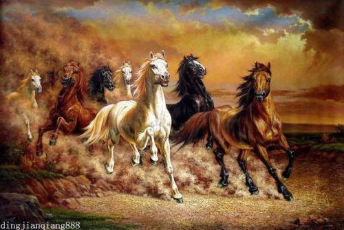 Horse Oil Paint...