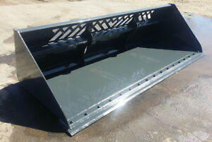 LARGE SNOW / MATERIAL BUCKET 84 inch, 96 inch, or 101 inch