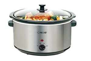 PRO CHEF 8.5 Quart Slow Cooker **LIQUIDATION SALE**