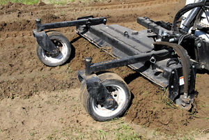 "UTILITY SOIL CONDITIONER / POWER RAKE 72"" Skid Steer Mount"