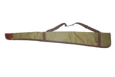 Bisley Green Canvas Shotgun Case Gun Slip Carrying Hunting Storage  Green Canvas Carrying Case