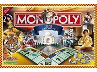RARE limited edition DESI Monopoly board