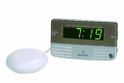 Sonic alert Very loud Vibrating shaking alarm clock