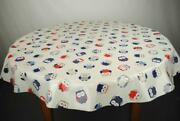 Vintage Round Tablecloth