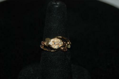 Black Hills Gold Harley Davidson Rings Ebay