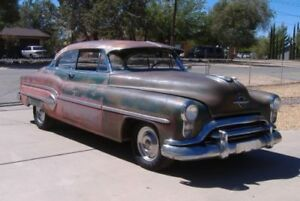 wanted 1951 oldsmobile 98 parts or complete car for parts 2 door