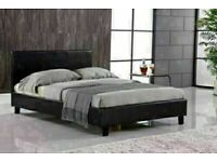 BRAND NEW FAUX LEATHER SINGLE-DOUBLE-SMALL DOUBLE & KING SIZE BED FRAME