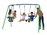 SPORTSPOWER MULTIPLAY SWING with 2 swings & glider - Brand new, Still in box