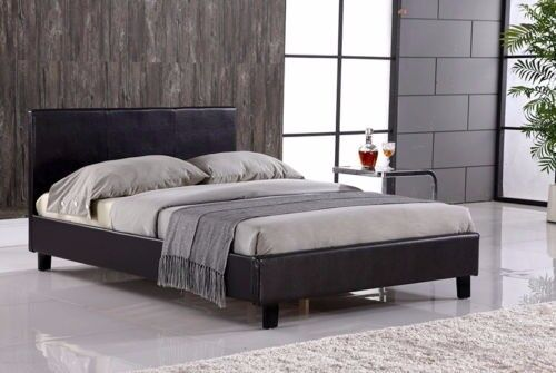 🚚EXPRESS DELIVERY🚚 GET BRAND New Double Leather Bed with Dual-Sided DEEP QUILTED IN 2 COLORS