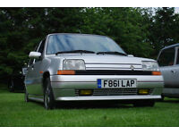 Renault 5 GTX super five 1.7 - 95Bhp - VGC - 87k - not gt turbo - 12 months MOT