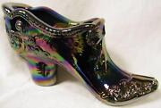 Carnival Glass Shoe